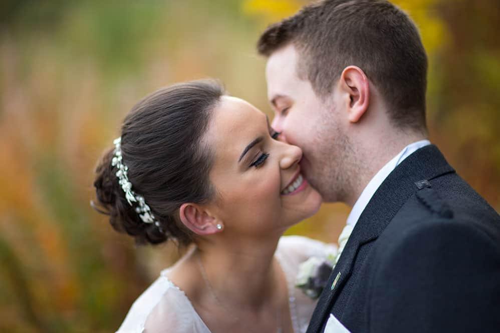 15 romantic bride with groom