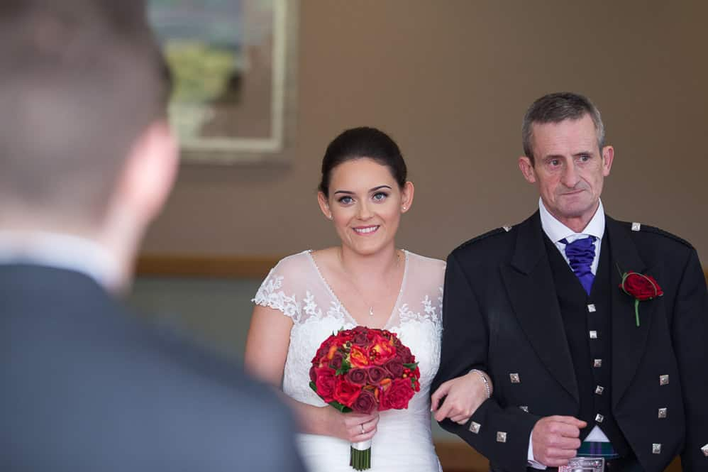 8 bride with father