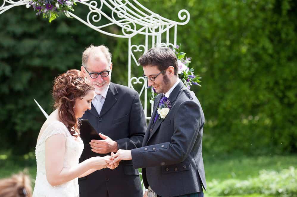 16 exchanging wedding rings
