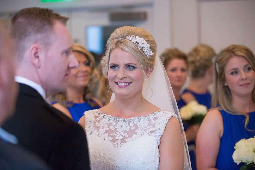 12 bride closeup