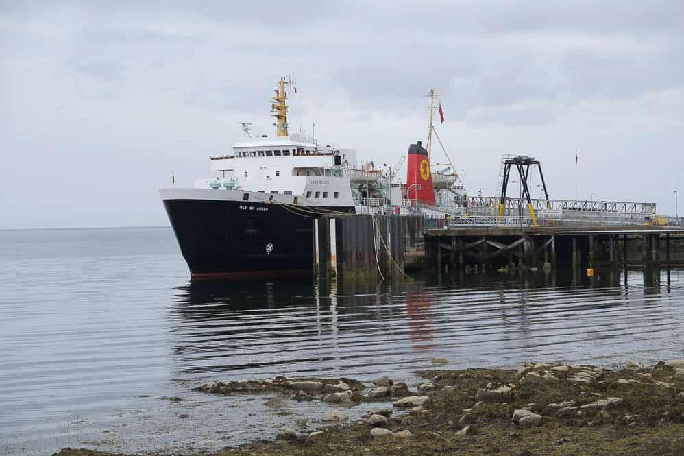 2 isle of arran ferry