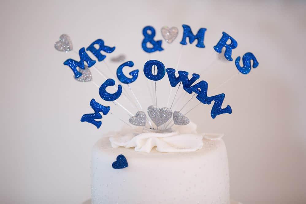 21 wedding cake