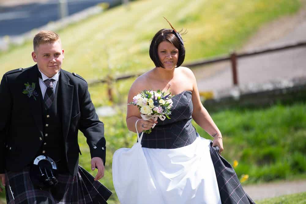 10 bride arrival