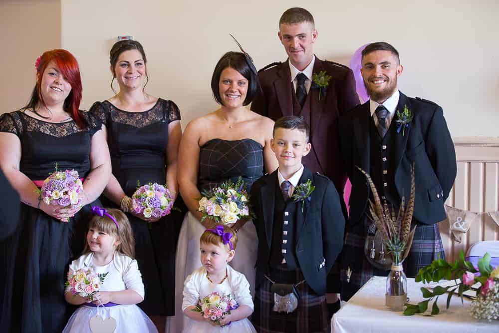19 bridal party