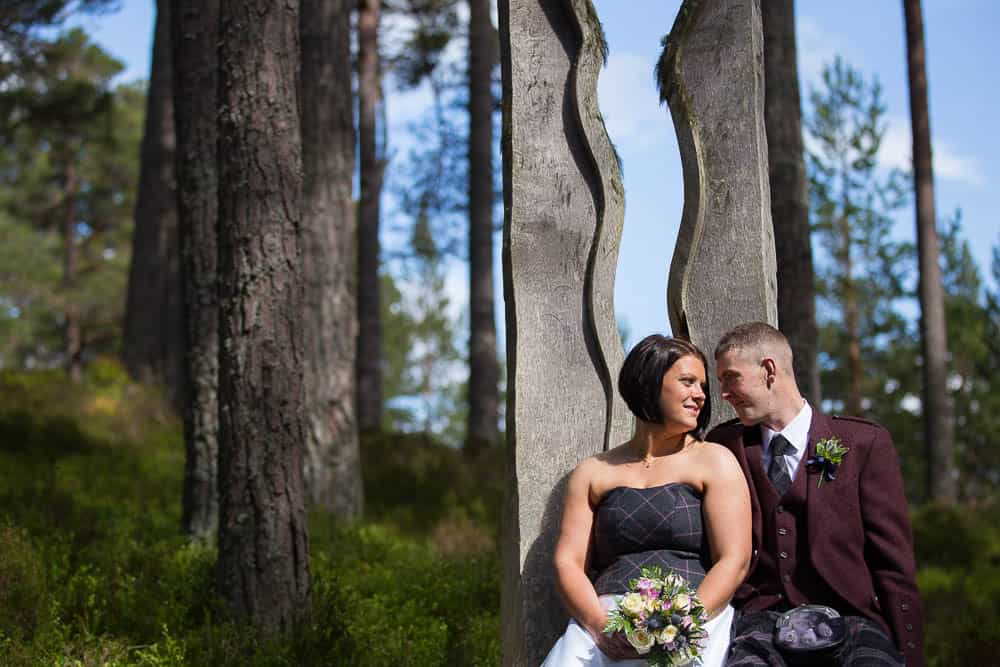 24 romantic bride with groom