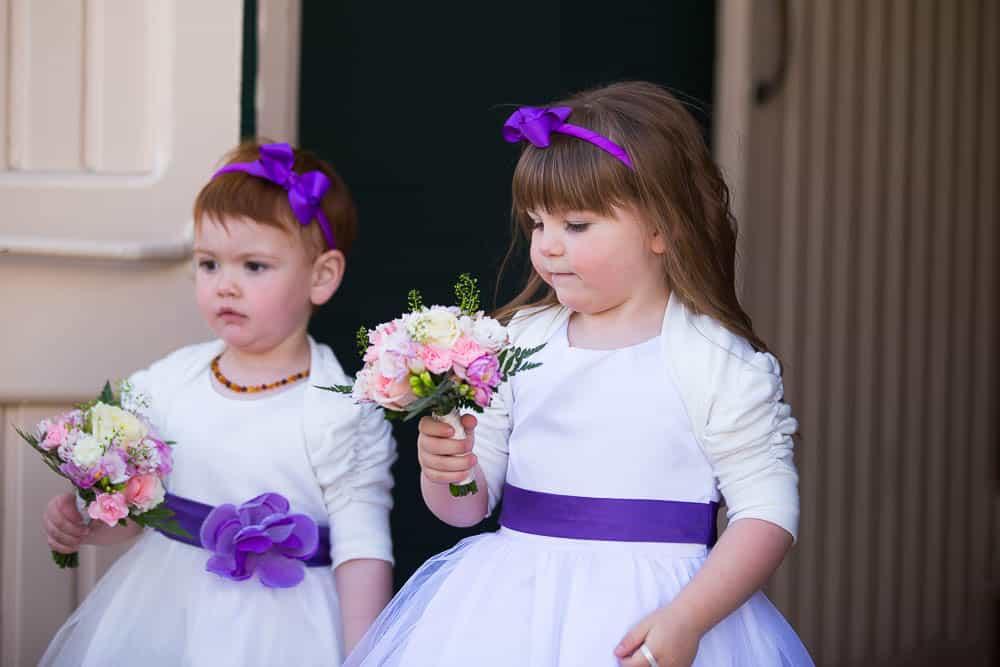 5 flower girls
