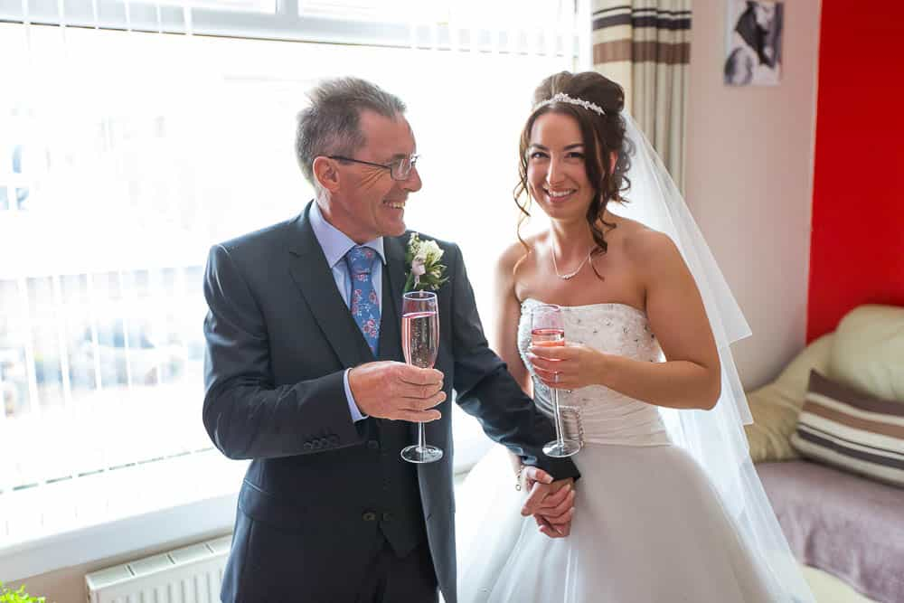 10 bride with her father