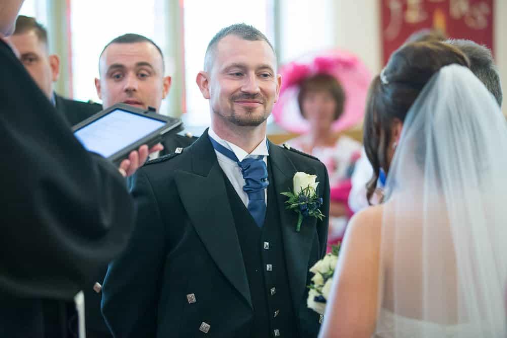 17 groom at Armadale parish church