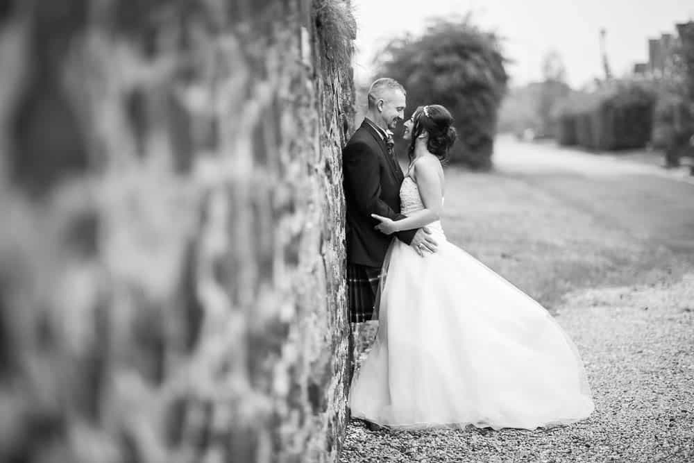 22 romantic bride and groom at Deer Park Golf Country Club