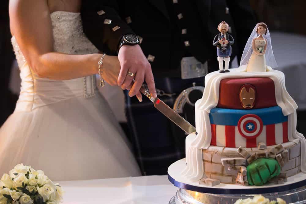 35 wedding cake Deer Park Golf Country Club