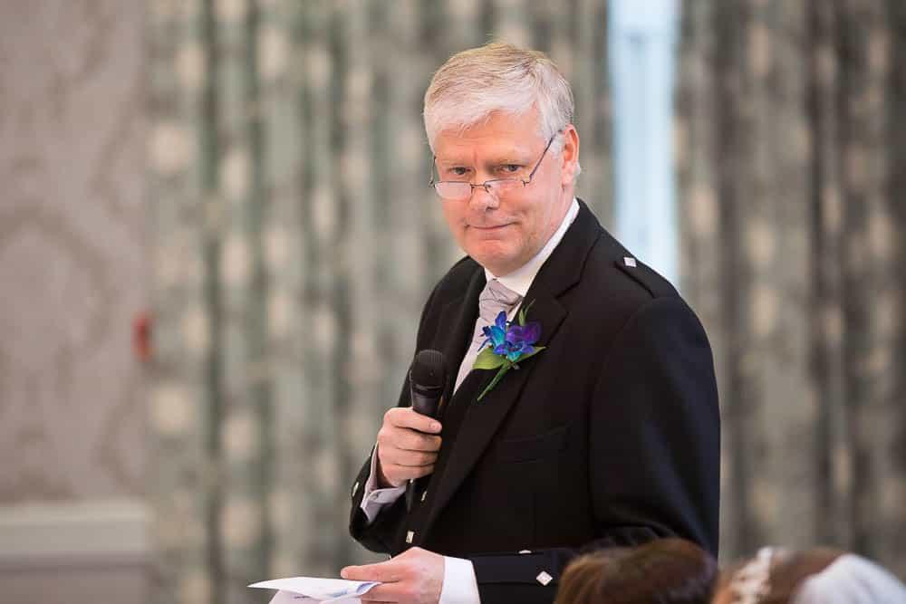 keavil house hotel wedding fathers speech