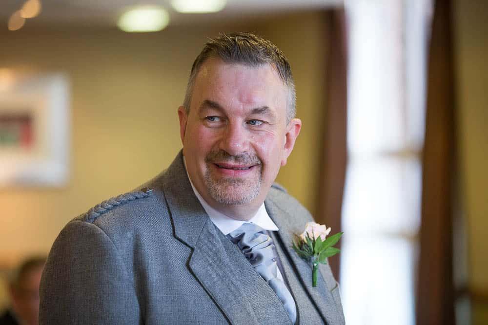 wedding photography westerwood hotel - groom