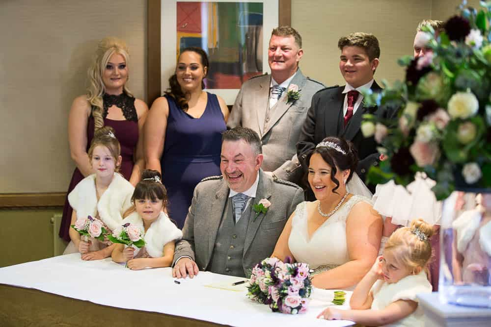 wedding photography westerwood hotel