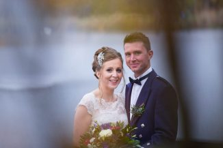 Forbes of Kingennie wedding - brie and groom